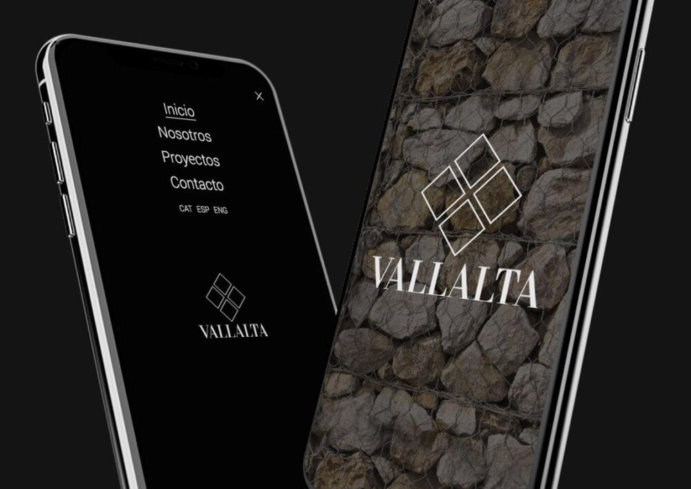 Desarrollo web Grupo Vallalta