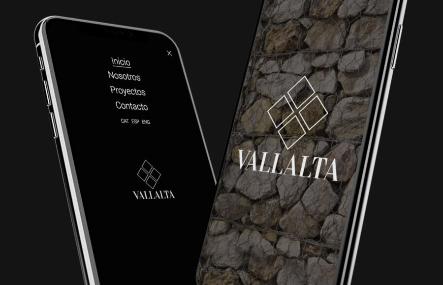 Creación de página web Grup Vallalta