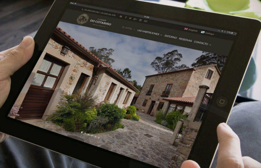 Web Hotel Rústico Lugar do Cotariño
